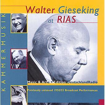 Walter Gieseking - Walter Gieseking at Rias: Music From a Divided City [CD] USA import