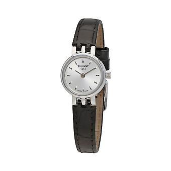 Tissot T058.009.16.031.00 Black Leather Band Steel Case Quartz Men's Watch