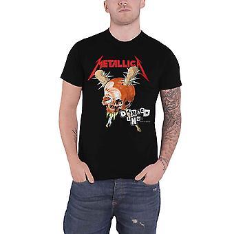 Metallica T Shirt Damage Inc Band Logo nieuwe Officiële Mens Black