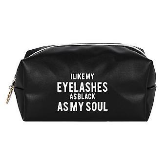 像我的灵魂化妆包一样黑