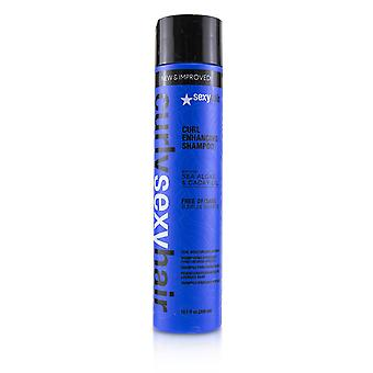 Cacho de cabelo encaracolado e que melhora o shampoo hidratante 230328 300ml/10.1oz