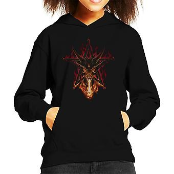 Alchemy Furnace Of Mercury Kid's Hooded Sweatshirt