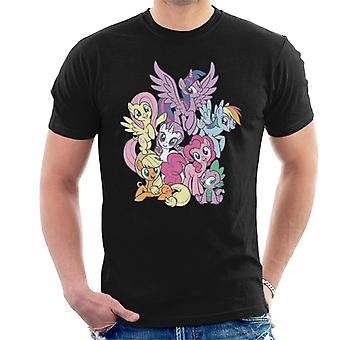 My Little Pony Spike And The Squad Men's T-Shirt