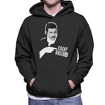 Freddie Mercury Of Queen 1981 Men's Hooded Sweatshirt