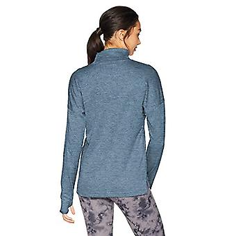 Marque - Core 10 Women's Be Warm Thermal Relaxed Fit Mock Long Sleeve, ...