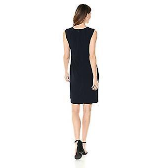 Leeuwerik & Ro Women's Sleeveless Wrap Skirt Dress, Navy, Medium