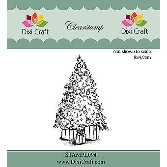 Dixi Craft Clear Stamps - Christmas Tree