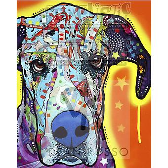 Stamplistic Great Dane Cling Stamp