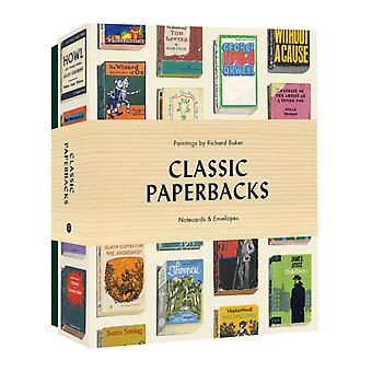 Classic Paperbacks Notecards and Envelopes by Baker & Richard