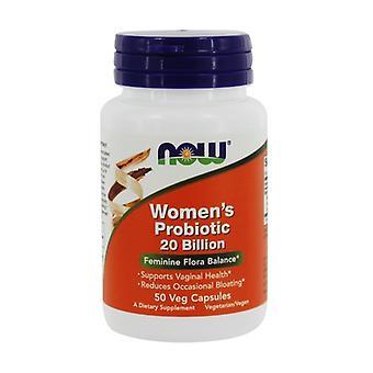 20 Billion Female Probiotic 50 vegetable capsules