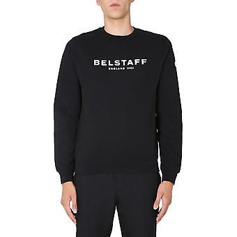 Belstaff 71130674j61n013309100 Men's Moletom de Algodão Preto