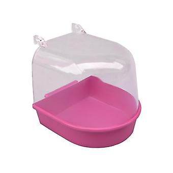 Bird Mirror Bath Shower Box - Pet Cage Accessories
