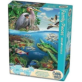 Cobble hill - earth day - family 350 pc puzzle