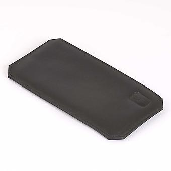 Black Cambridge Leather Glasses Case