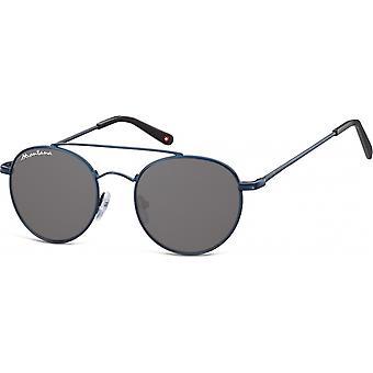 Sunglasses Unisex By SBG Aviator dark blue (S91B)