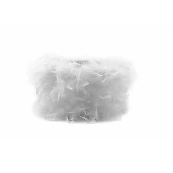 Sombra pluma blanco 250mm x 180mm