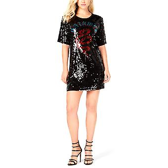 Je suppose | Robe t-shirt en paillettes sauvage