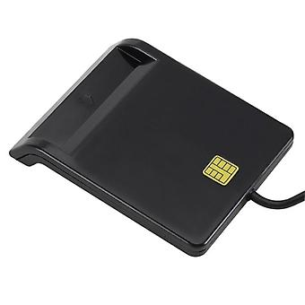 Usb Smart Card Reader For Bank Card Ic/id Emv Windows 7 8 10 Linux Os Usb-cc