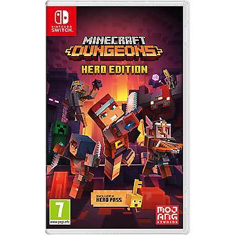Minecraft Dungeons Nintendo Vaihda peli