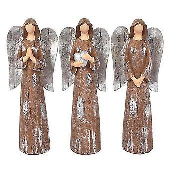 Something Different Trio of Medium Angels Ornament