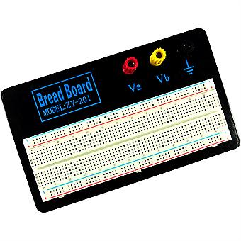 Zhong Yi 830pt 2.54mm White Solderless Breadboard - ZY-201