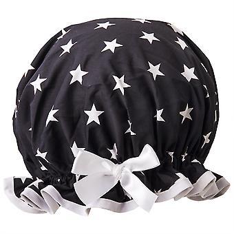 Night Star Shower Cap
