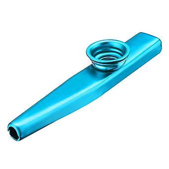 Simple Design, Lightweight Portable Metal Kazoo For Beginner, Flute Music