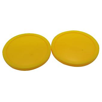 "2pcs Air Hockey Tisch Pusher Puck, 82mm 3-1/4"" Torhüter Tisch Pucks Party,"