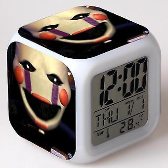 الملونة متعددة الوظائف LED الأطفال & apos;ق ساعة المنبه -سينكو no no Freddy #21