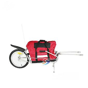 Single Wheel Bicycle Luggage Trailer Without Bag