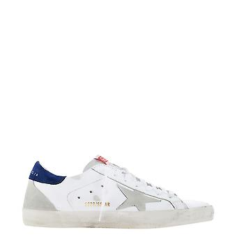 Golden Goose Gmf00102f00034010279 Men's White Leather Sneakers