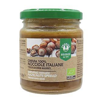 100% italialainen hasselpähkinäkerma Ei mitään