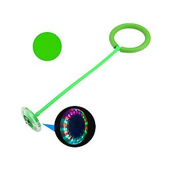 Skip Ball Toy With Led Lighting Green