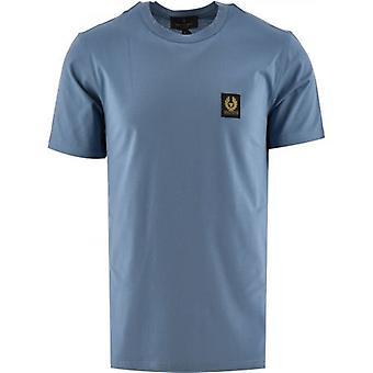 Belstaff Blue Short Sleeved T-Shirt