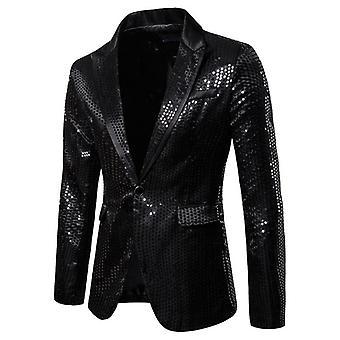 メンズ フォーマルな花婿スーツ, ブレザー ラペル コート, シングル ボタン, スリム ジャケット