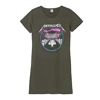 Vahvistettu Metallica Purple Master Of Puppets T-paita