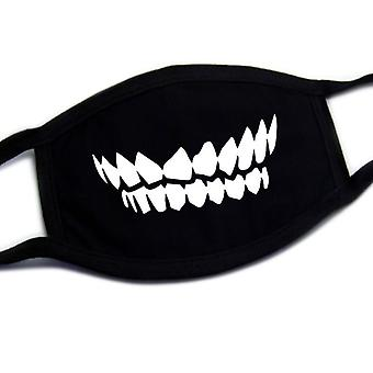 Dustproof Mouth Mask Pop Cotton Face Cartoon Reusable Fabric Anti Pollution