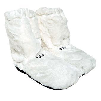 Deluxe kuumat saappaat, Lämmitystossut - Valkoinen