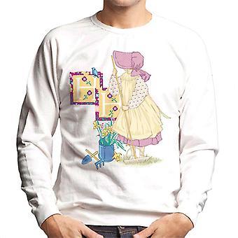 Holly Hobbie Gardening Men's Sweatshirt