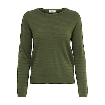 JDY Womens Structure Knit Sweater JDYGADOT Round Neck Pullover Top Long sleeve