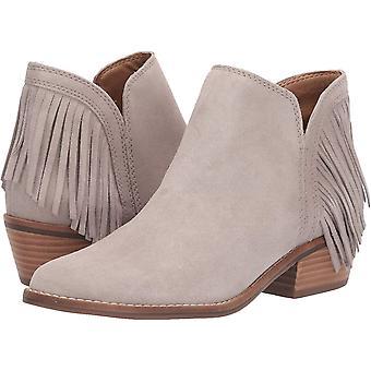 Lucky Brand Womens Freedah cerrado tobillo de los pies Chelsea Botas, Chinchilla, talla 6.0