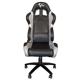 MotoGP Team Chair Black And Silver