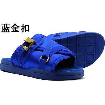Men Summer Shoes Plus Size, Couple Slippers, Flip-flops Comfortable Footwear,