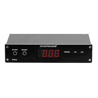 FX-Audio PW-6 HiFi Amplifier Speaker Converter 2 in 1 out Remote control 1 in 2 out Convenient Comp