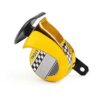 Waterproof Snail Air Motorcycle Horn Siren Loud For Car Truck Motorbike