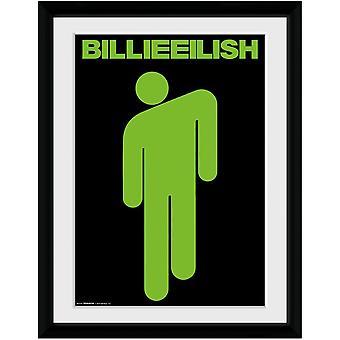 Billie Eilish Stickman Framed Poster