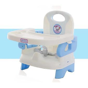Matstol i plast för, med trepunktsbälte babymatningsstol