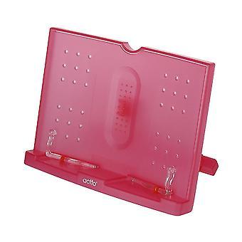 Book shelf holder, tablet holder for reading recipes, foldable and adjustable multifunctional holder