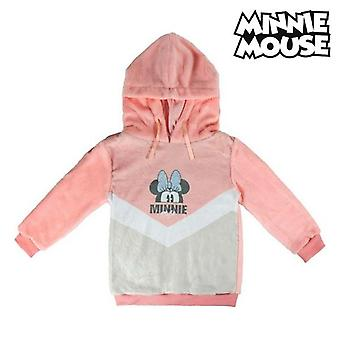 Children's hoodie minnie mouse 74239 pink