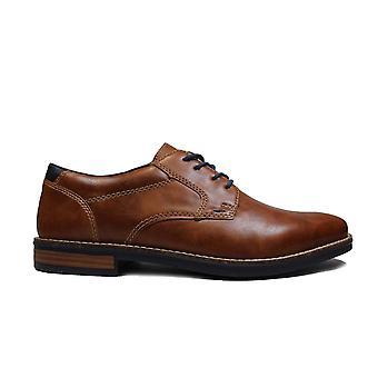 Rieker 13500-25 Brown Mens Smart Lace Up Shoes